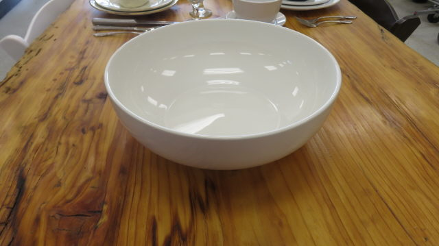 Where to find SERVING BOWL 13  WHITE PORCELAIN in Cornelius