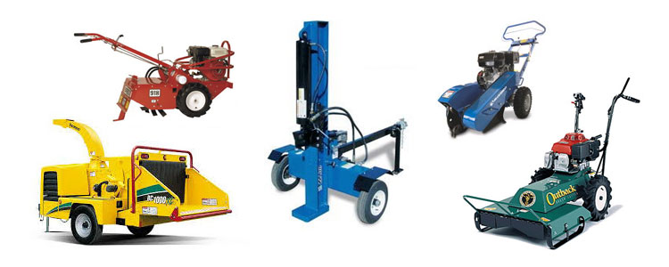 Construction equipment rentals in Cornelius